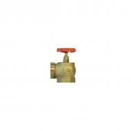 Клапан КПЛМ латунный 50-1 90° муфта - цапка