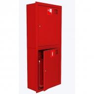 Шкаф под пожарный кран встроенный 2 огнетушителя (закрытый) ШПКО-320 ВЗКУ/ВЗБУ