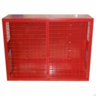Щит №4 пожарный закрытый металлический (неукомплектованный) 1300*1000*300мм дверь решетка
