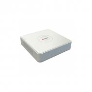 Гибридный регистратор на 8 каналов 2 IP с поддержкой H.265 – HiWatch DS-H208Q