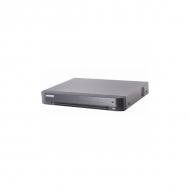 DVR Hikvision DS-7208HUHI-K2/P 8 каналов HD TVI/AHD/CVBS камеры, поддержка питания PoC