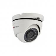 Уличная HD-TVI камера-сфера 1Мп HiWatch DS-T103 с ИК-подсветкой и поддержкой CVBS