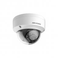 Вандалостойкая купольная HD-TVI камера 3Мп Hikvision DS-2CE56F7T-VPIT с EXIR