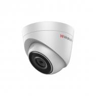 Уличная сетевая камера-сфера HiWatch DS-I103 с ИК-подсветкой EXIR