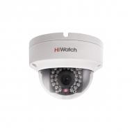 Бюджетная вандалостойкая 960p купольная IP-камера HiWatch DS-I122 для улицы