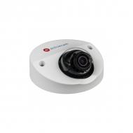 Вандалостойкая мини-купольная IP-камера ActiveCam AC-D4121WDIR2 с аппаратной видеоаналитикой