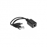 Пассивный комплект (инжектор + сплиттер) OSNOVO PPK-11 для передачи PoE по кабелю Cat 5e
