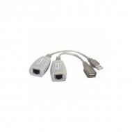 Удлинитель USB 1.1 интерфейса TA-U1/1+RA-U1/1 для клавиатуры и мыши по витой паре до 100 м