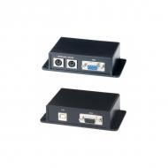Комплект VKM02: VGA/клавиатура/мышь на расстояние до 100 м по 2 CAT5e