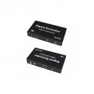 Комплект TLN-HiKM/1+RLN-HiKM/1 с поддержкой беспроводных USB, передача HDMI, ИК управление по Ethernet