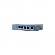 PoE-коммутатор Hikvision DS-3E0105P-E с 4 PoE-портами