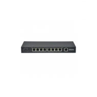 8-портовый PoE коммутатор OSNOVO SW-20900/B Fast Ethernet
