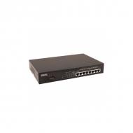8-портовый PoE коммутатор OSNOVO SW-20800/B (12/24/48) Fast Ethernet