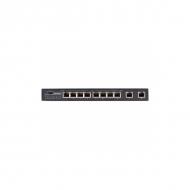 8-портовый PoE коммутатор OSNOVO SW-20820/B (96W) Fast Ethernet