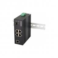 Только под заказ! Промышленный 4-портовый PoE коммутатор OSNOVO SW-40501/IC Fast Ethernet