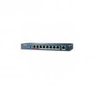 PoE-коммутатор Hikvision DS-3E0109P-E с 8 PoE-портами