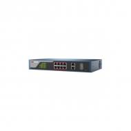 PoE-свитч (Web-интерфейс) Hikvision DS-3E1310P-E с 8 PoE-портами