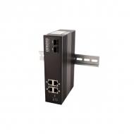 Только под заказ! Промышленный 4-портовый PoE коммутатор OSNOVO SW-8042/IC Gigabit Ethernet