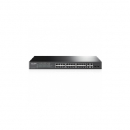 24-портовый гигабитный управляемый PoE-коммутатор TP-Link T1500-28PCT (TL-SL2428P)