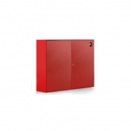 Щит №4 пожарный закрытый металлический (неукомплектованный) 1300*1000*300мм дверь глухая