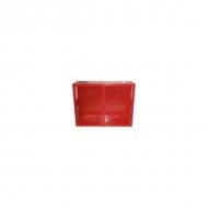 Щит №3 пожарный закрытый металлический (неукомплектованный) 1300*540*300 дверь решетка