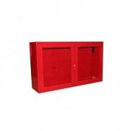 Щит №3 пожарный закрытый металлический СБ-Р (неукомплектованный) 1300*540*300 дверь решетка